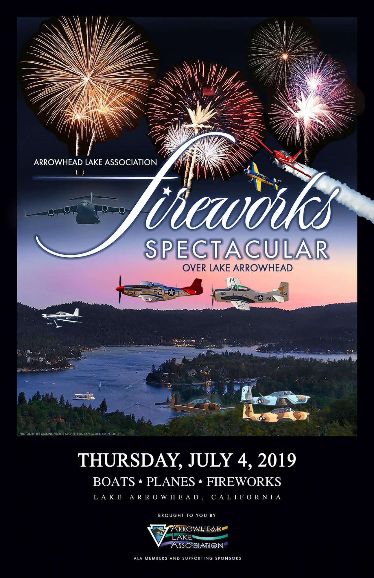 Fireworks Spectacular - Arrowhead Lake Association